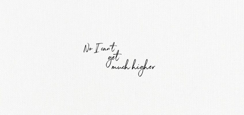 Higher Lyrics Shawn Mendes